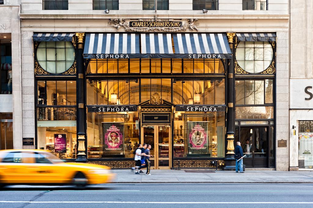 Sephora, New York. Credit Eric Wustenhagen Flickr