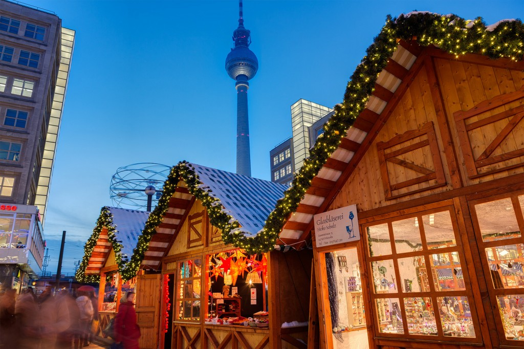 Christmas Markets, Berlin. Credit: Visitberlin