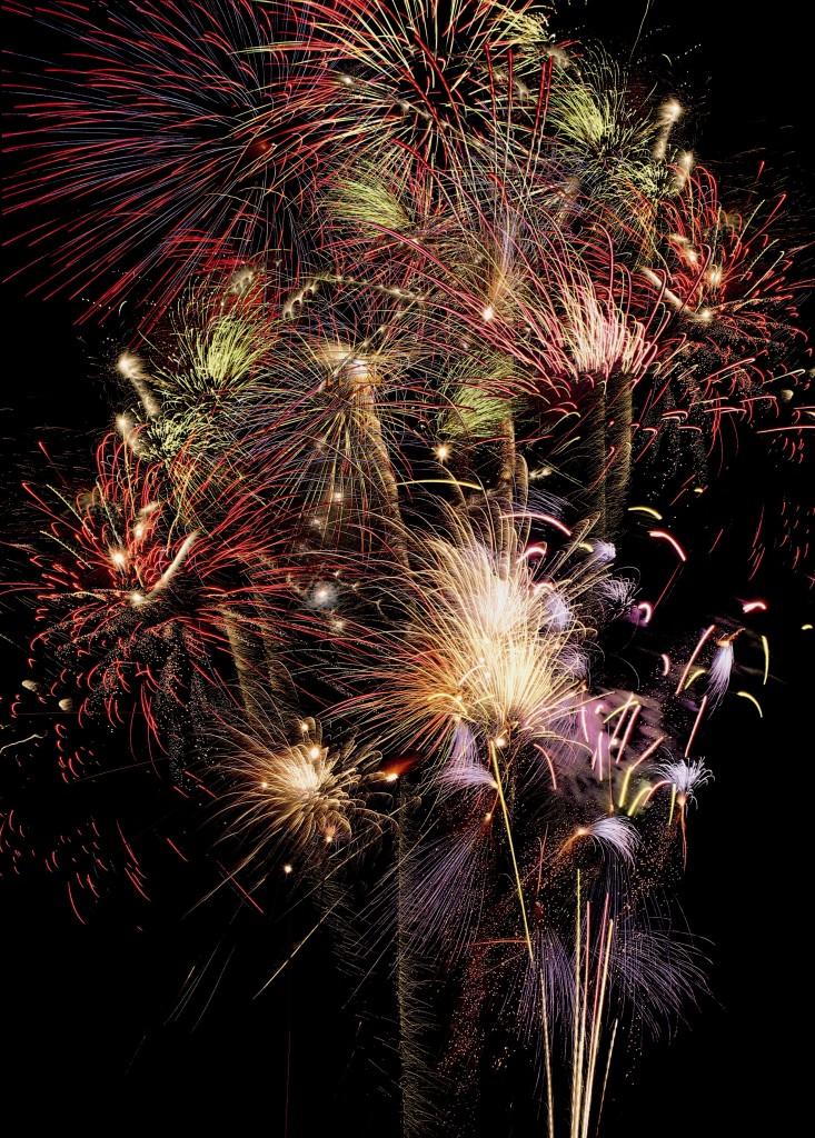 New Year's Eve Fireworks, Amsterdam. Credit: Amsterdam Marketing