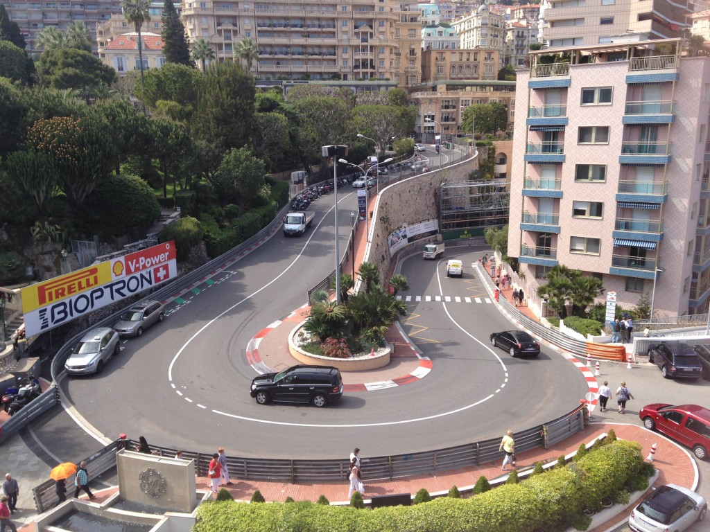 F1 Hairpin View From Fairmont