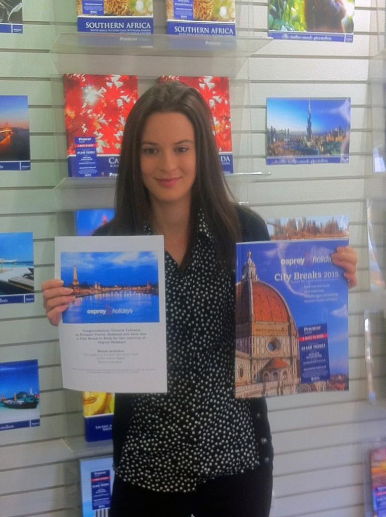 Victoria Coleman -Travel Consultant - Premier Travel, Halstead