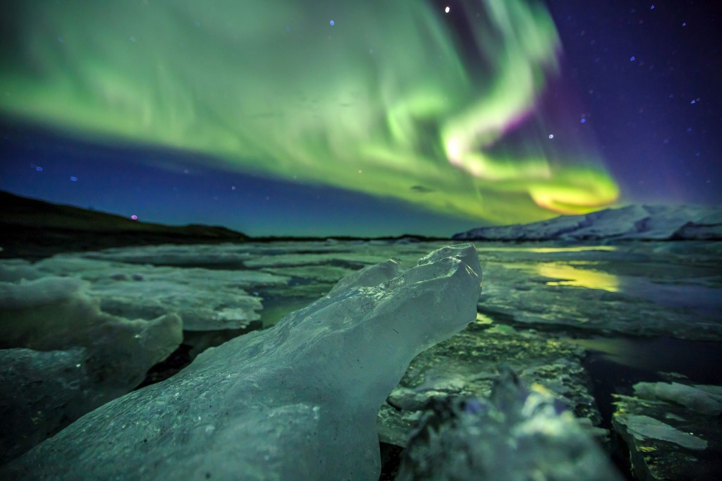 Northern-Lights,-Icleand---
