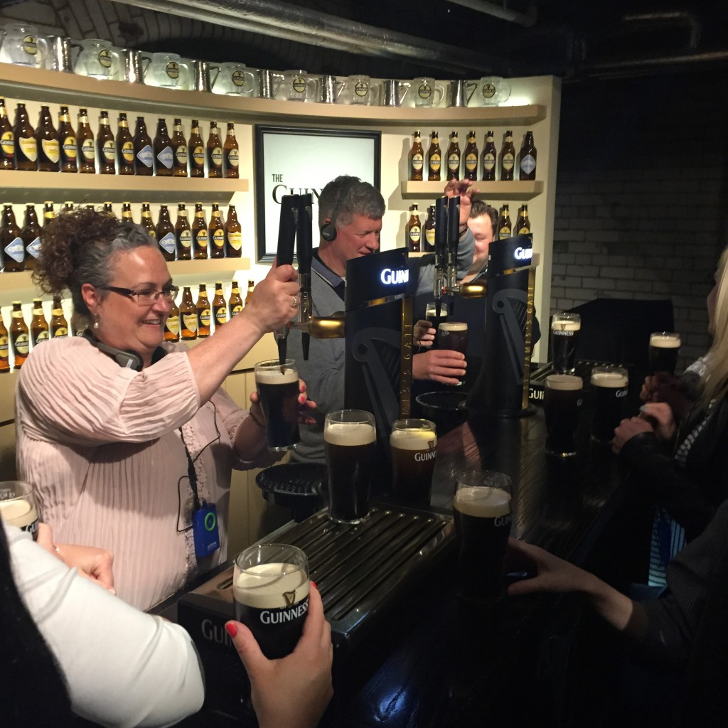 OSprey Holidays - Pint Pulling at Guinness Storehouse - May 16