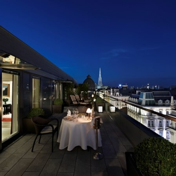 Terrace, Hotel Sacher Wien