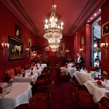 Restaurant Rote Bar, Hotel Sacher Wien